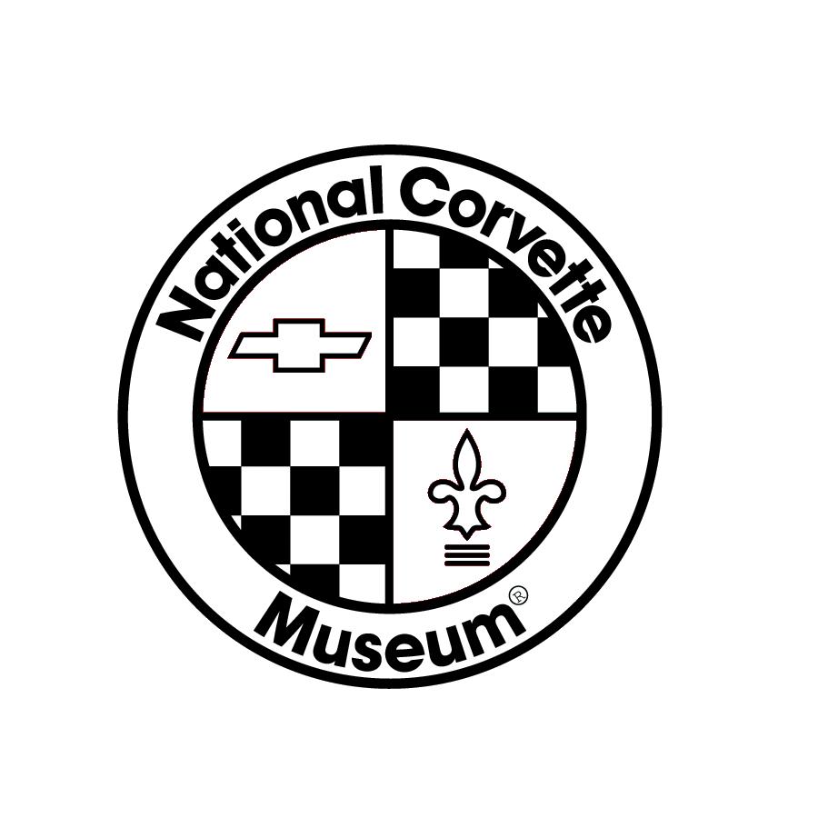 C4 Corvette Emblem Zinc Earrings